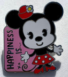 Happiness Is Minnie Mouse Mystery Disney Pin