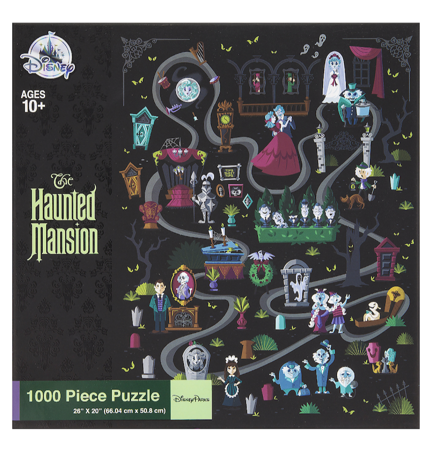 Haunted Mansion Disney Parks Puzzle