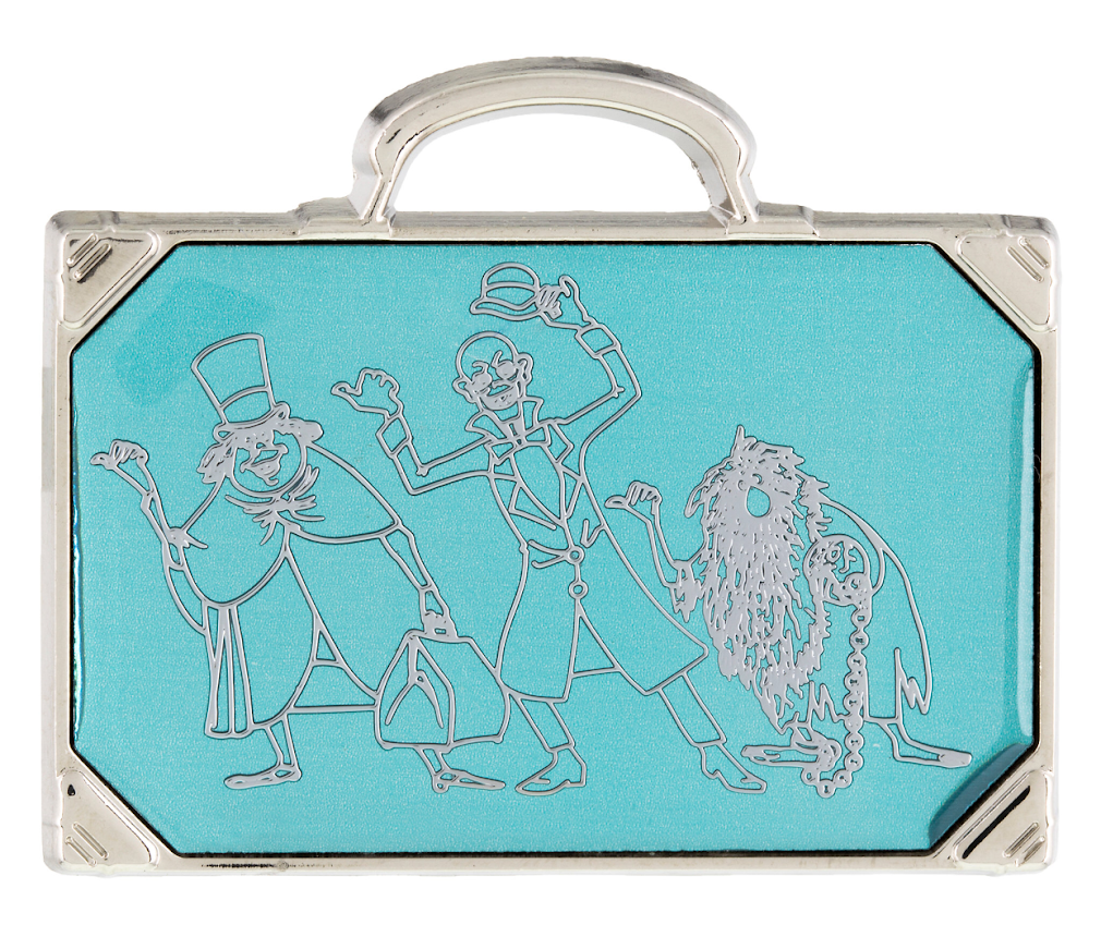 Haunted Mansion Hitchhiking Ghosts Suitcase Disney Pin