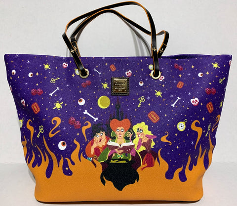 Sanderson Sisters Hocus Pocus Dooney and Bourke Tote