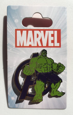 The Incredible Hulk Avengers Disney Pin
