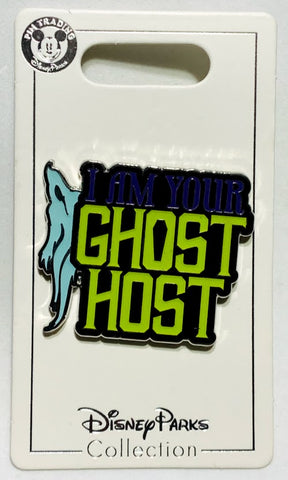 I Am Your Ghost Host Haunted Mansion Disney Pin