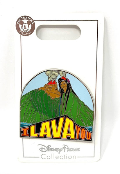 Uku and Lele I Lava You Disney Pin