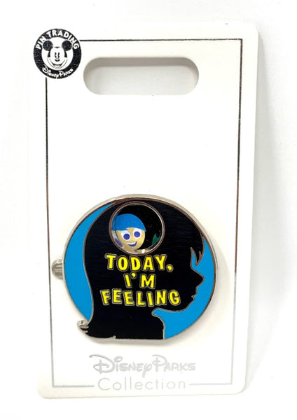 Today I'm Feeling Inside Out Mood Spinner Disney Pin
