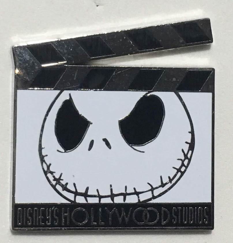 Jack Skellington Hollywood Studios Clapboard Mystery Disney Pin