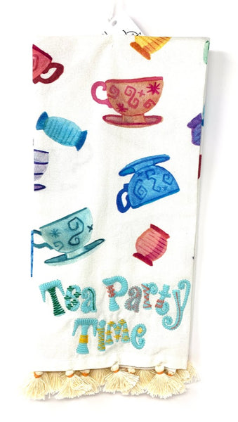 Mad Tea Party Teacups Tea Party Time Disney Kitchen Towel