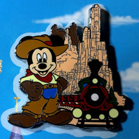 Magic Kingdom Attractions Booster Disney Pin Set
