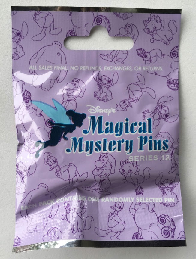 Magical Mystery Backpacks Series 12 Mystery Disney Pin