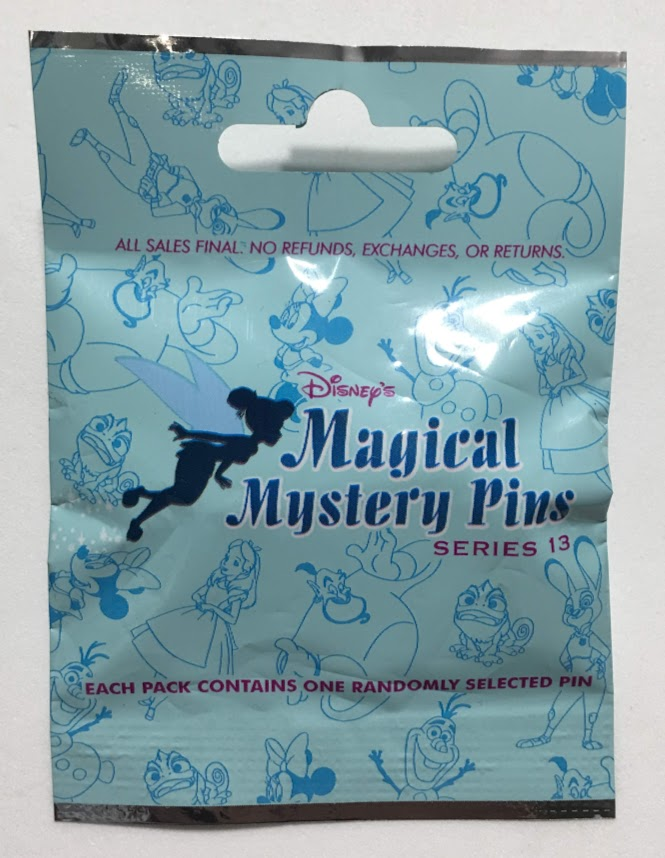 Magical Mystery Notebooks Series 13 Mystery Disney Pin