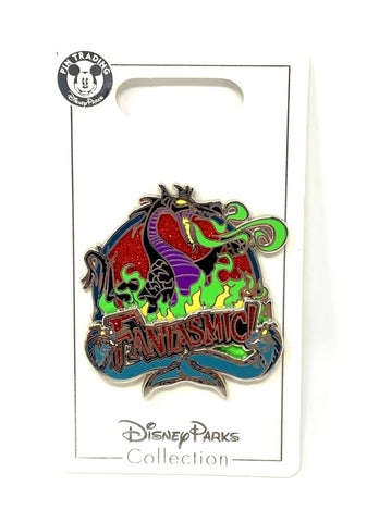 Maleficent Dragon Fantasmic Disney Pin