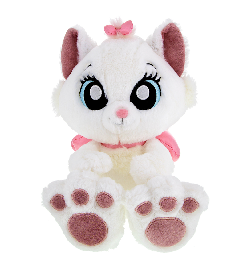 "10"" Big Feet Marie Disney Plush Doll"