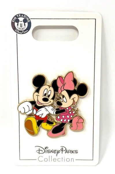 Mickey and Minnie Strolling Disney Pin