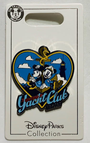 Mickey and Minnie Mouse Yacht Club Resort Disney Pin