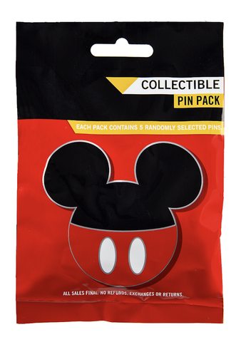Mickey Icon Characters Mystery Disney Pin Pack