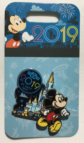 Mickey Mouse Walt Disney World 2019 Disney Pin