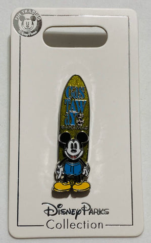 Mickey Mouse Castaway Cay Surfboard Disney Cruise Line Pin