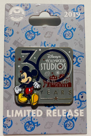 Mickey Mouse Hollywood Studios 30th Anniversary Disney Pin