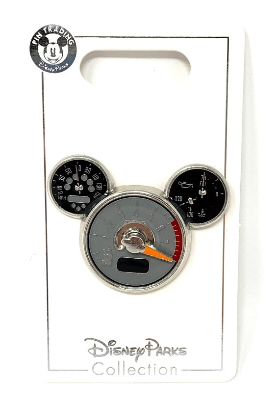 Mickey Icon Tachometer Disney Pin