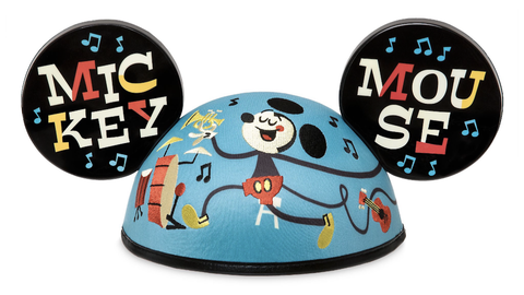 Mickey Mouse Musical Limited Release Mickey Mouse Ear Hat by Dave Perillo