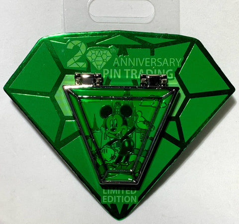 Mickey Mouse Pin Trading 20th Anniversary Disney Pin
