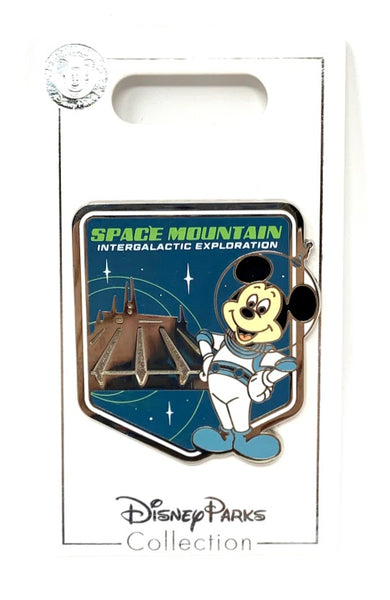 Mickey Mouse Space Mountain Intergalactic Exploration Disney Pin