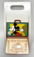 Around the World with Mickey Mouse Suitcase Disney Pin