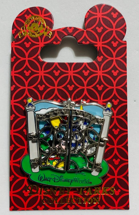 Mickey Mouse Walt Disney World Gate Disney Pin