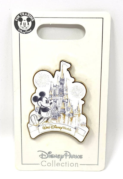 Mickey Mouse with Cinderella Castle Walt Disney World Disney Pin