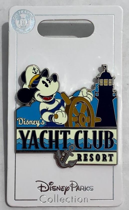 Mickey Mouse Yacht Club Resort Disney Pin