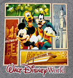 Mickey Pluto Goofy and Donald Walt Disney World T-Shirt Size XX-Large