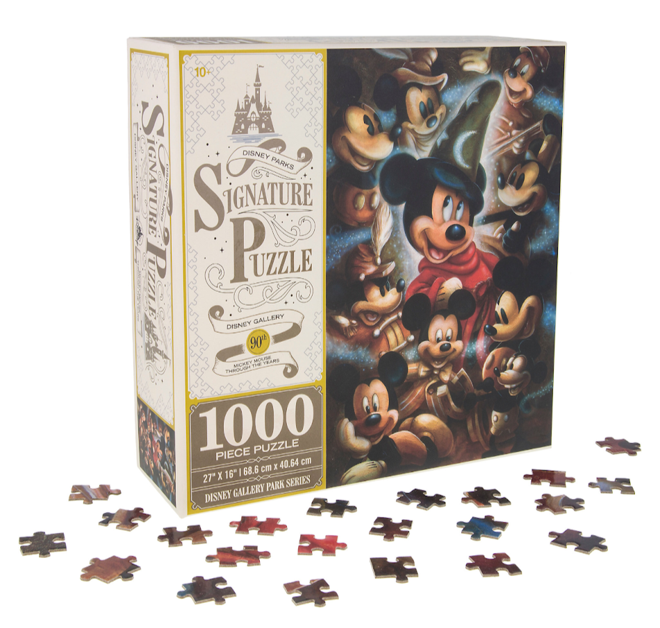 Mickey Mouse Through the Years Disney Parks Signature Puzzle