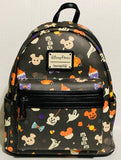 Mickey Halloween Treats Disney Loungefly Mini Backpack