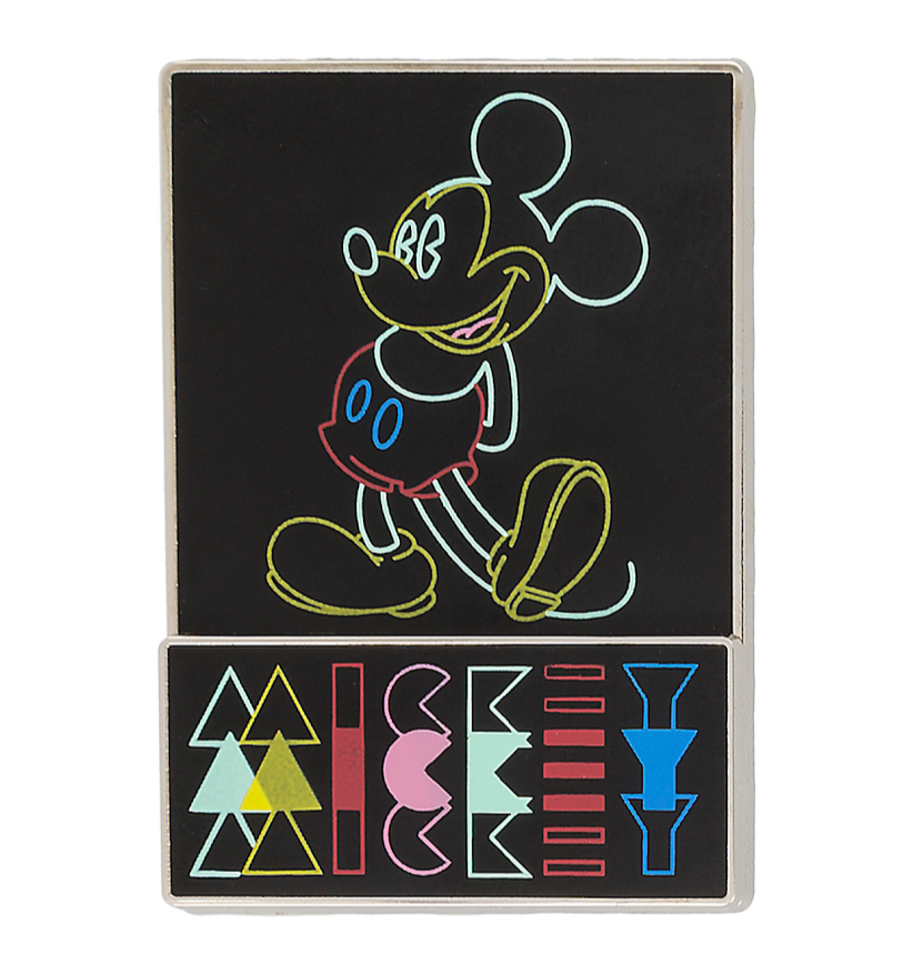 Mickey Mouse Flashback Neon Disney Pin