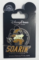 Mickey Mouse King of the Skies Soarin' Around the World Disney Pin