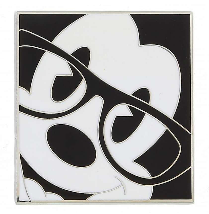Mickey Mouse with Eyeglasses Disney Pin