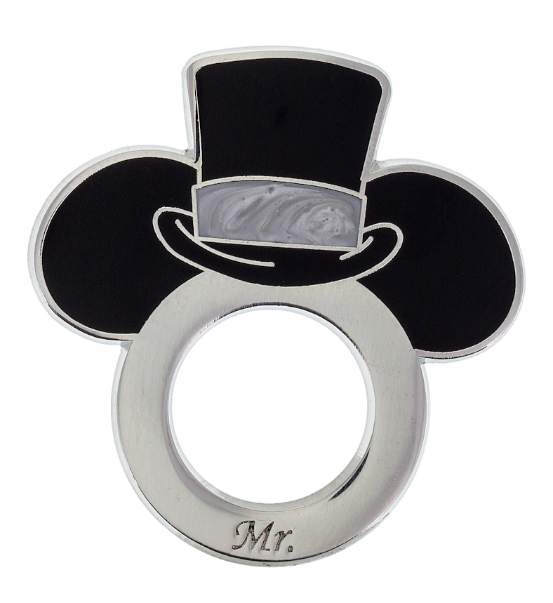 Mickey Mr. Wedding Ring Disney Pin