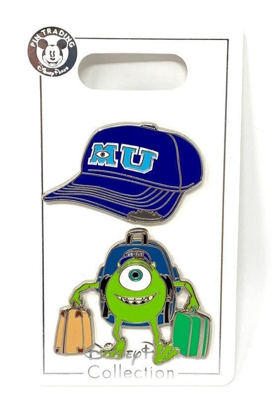 Mike Wazowski Monsters University Disney Pin Set