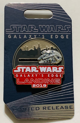 Millennium Falcon Star Wars Galaxy's Edge Landing 2019 Disney Pin