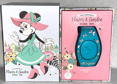 Minnie Mouse 2020 Flower and Garden Festival Limited Edition Disney Magic Band