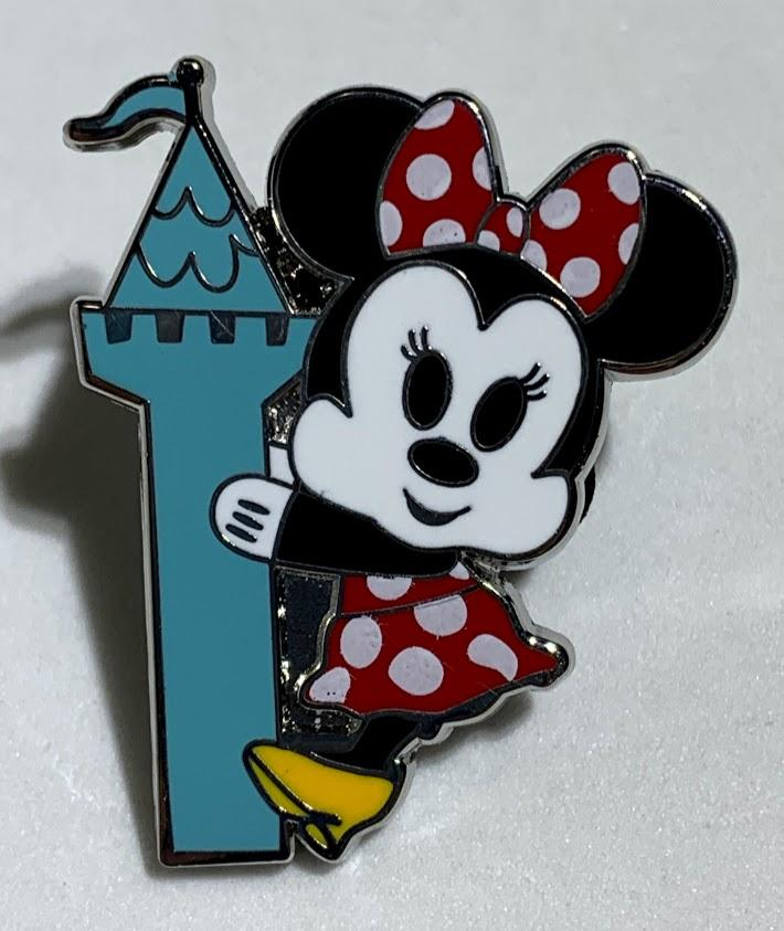 Minnie Mouse Park Pals Mystery Disney Pin