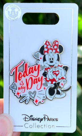 Minnie Mouse Today Is My Day Disney Pin