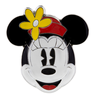 Minnie with Flower Hat Sculpted Disney Pin