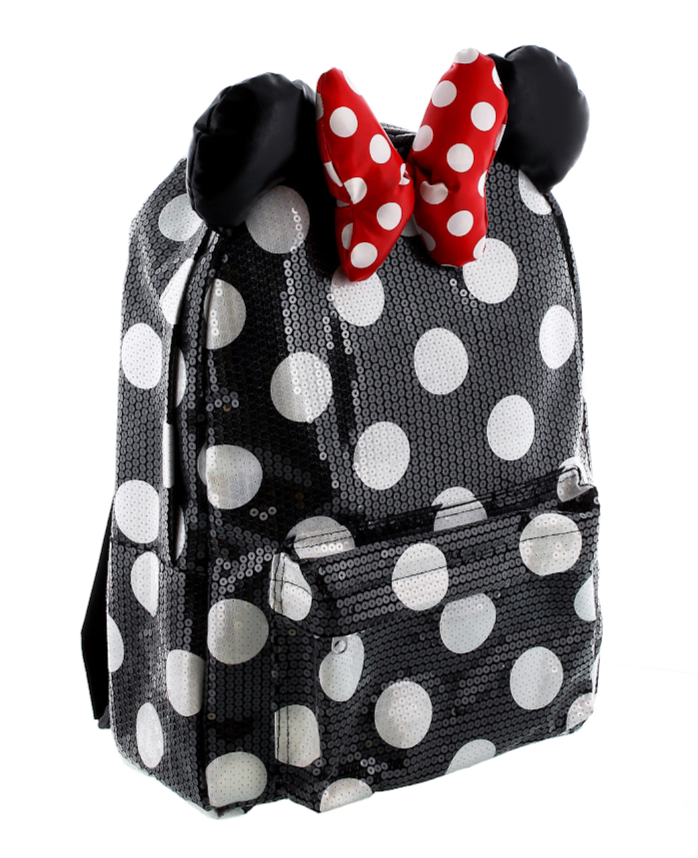 Polka Dot Sequined Minnie Mouse Backpack