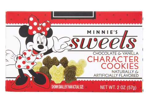 Minnie's Sweets Chocolate & Vanilla Character Cookies Disney Parks