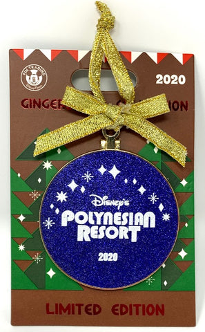 Moana and Hei Hei Polynesian Resort 2020 Gingerbread Disney Pin