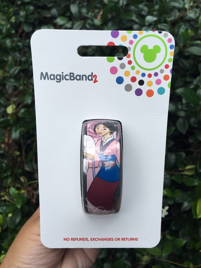 Mulan Disney Parks Magic Band 2.0