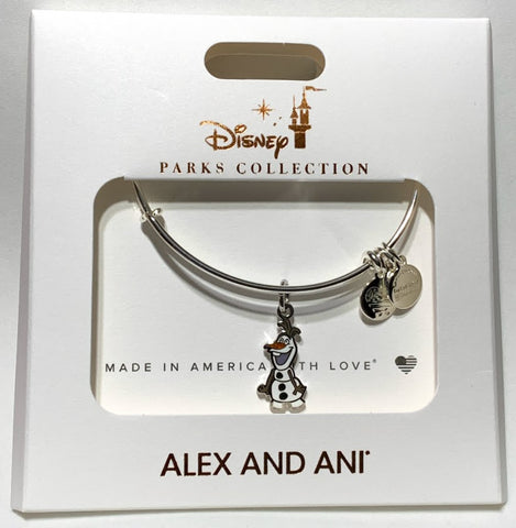 Olaf Frozen Alex and Ani Disney Bracelet