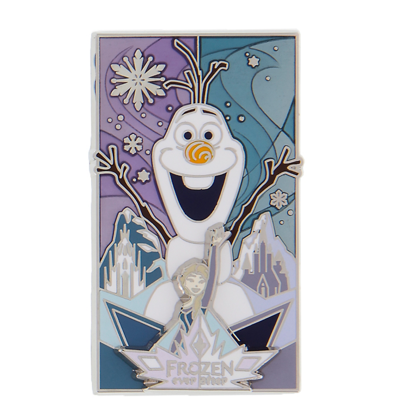 Olaf and Elsa Frozen Ever After Disney Pin