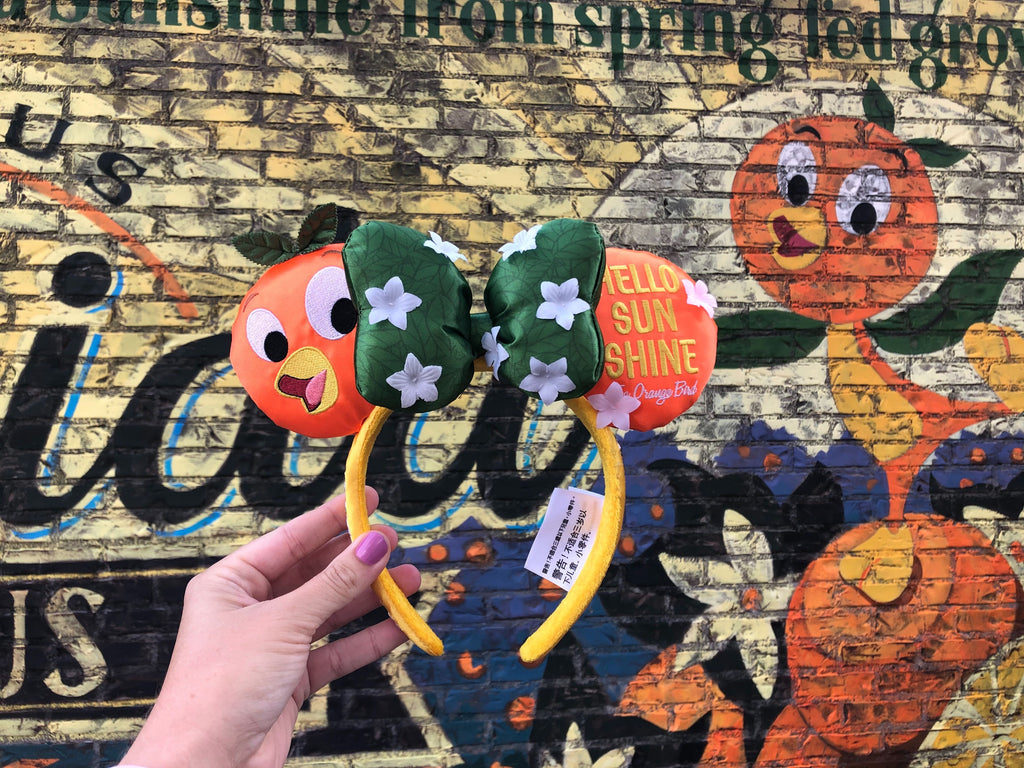 Orange Bird 2020 Epcot Flower and Garden Festival Minnie Mouse Ears Headband