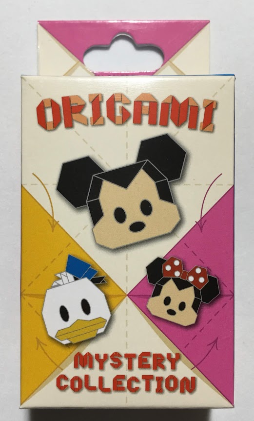 Origami Characters Mystery Disney Pins